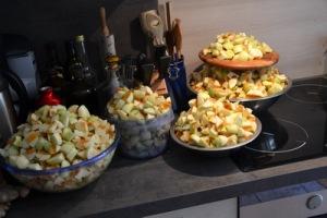 Was man mit Äpfeln so alles anstellen kann - Teil 1